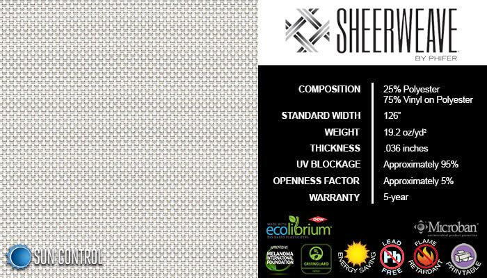 SheerWeave 4000 Eco Alabaster