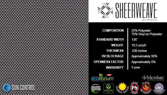 SheerWeave 4000 Eco Ash