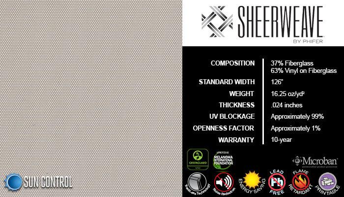 SheerWeave 2500 Beige Pearl Gray