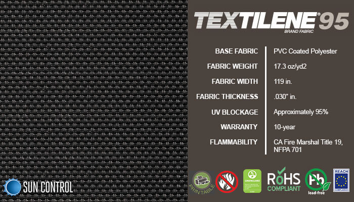 Textilene 95 Galaxy Black