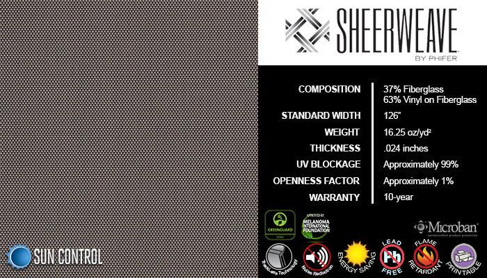 SheerWeave 2500 Charcoal Alpaca