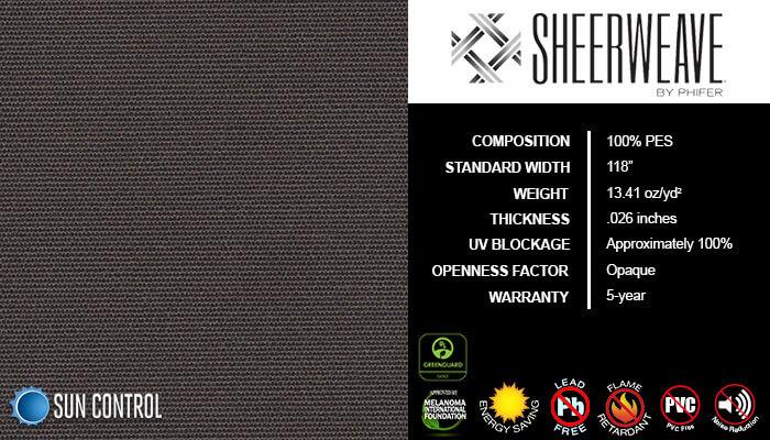 SheerWeave Blackout 7000 Cocoa