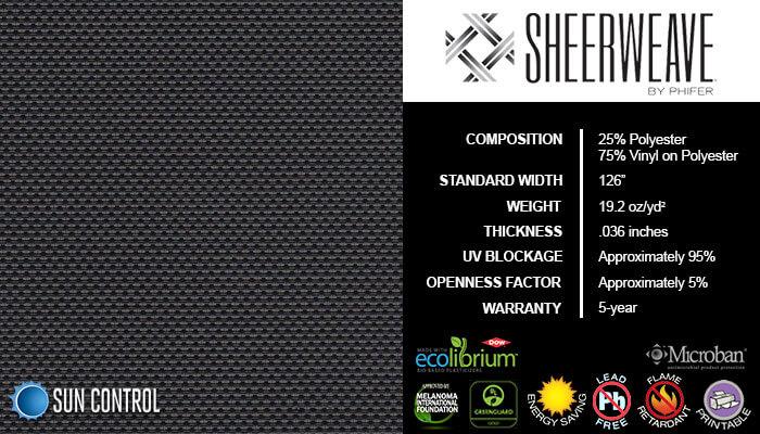 SheerWeave 4000 Eco Ebony