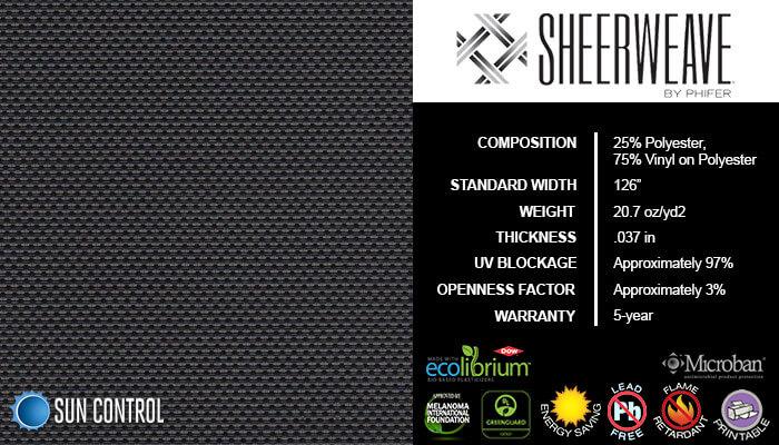 SheerWeave 4400 Eco Ebony