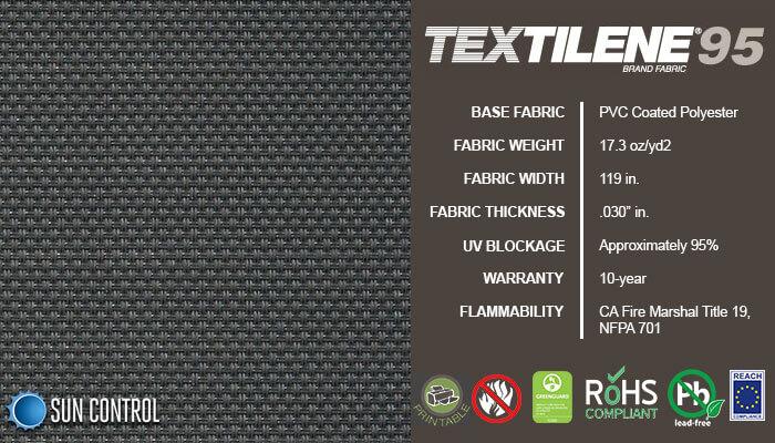 Textilene 95 Graphite