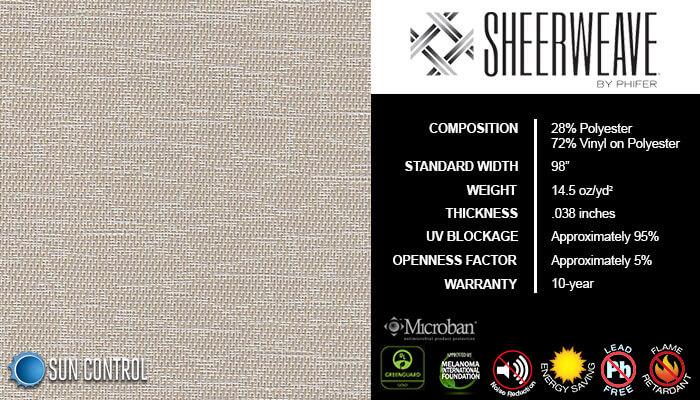 SheerWeave 5000 Marble Sand