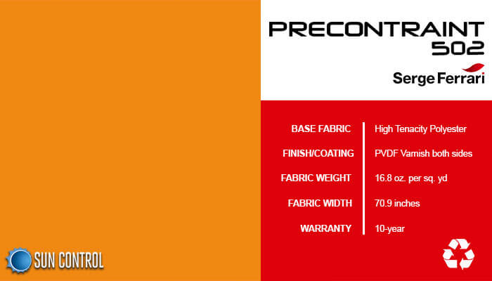 Precontraint 502 Orange