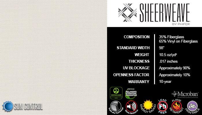 SheerWeave 2360 Oyster Beige