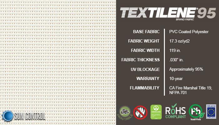 Textilene 95 Pure White