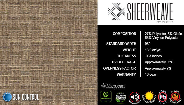SheerWeave 5000 Thatch Wheatgrass