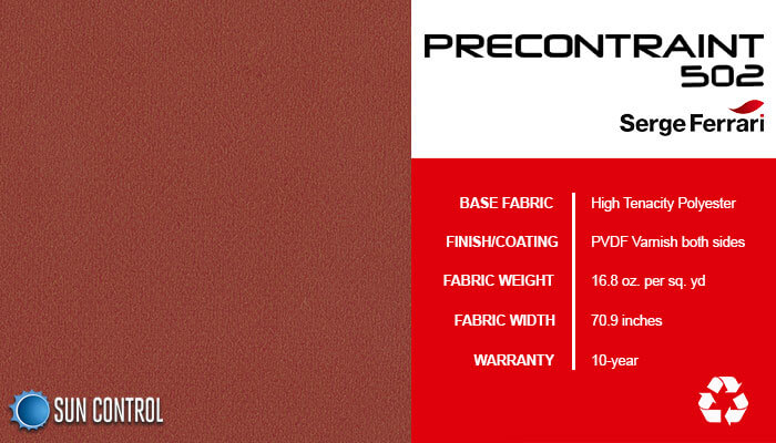Precontraint 502 Velvet Red